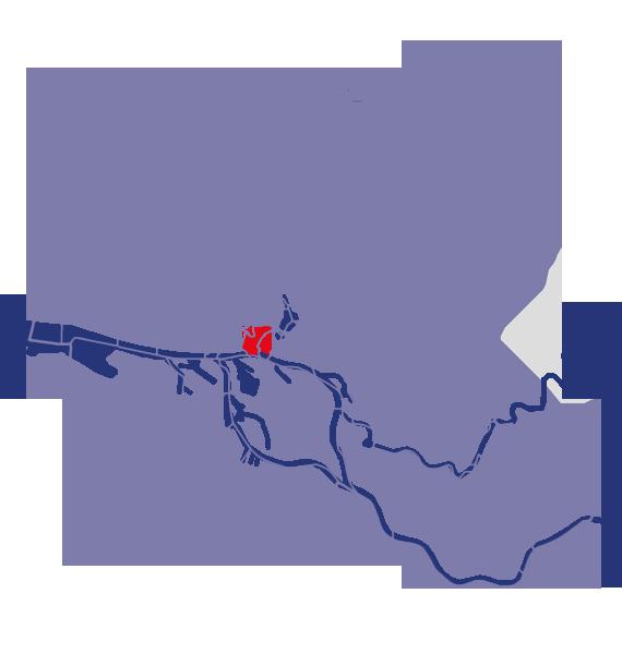 Stadtteilkarte